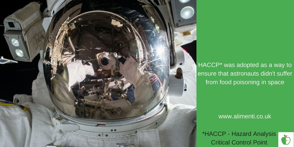 HACCP space programme