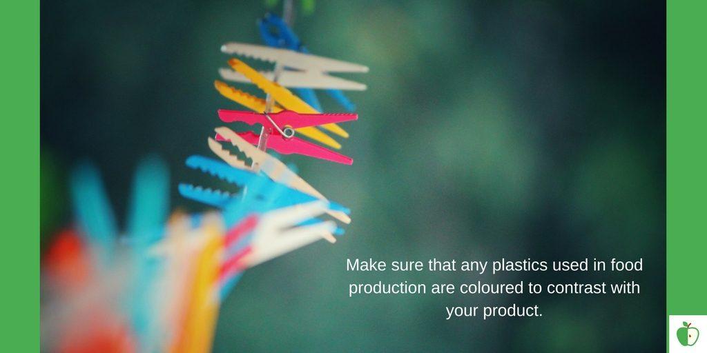 Plastic HACCP Physical Hazard