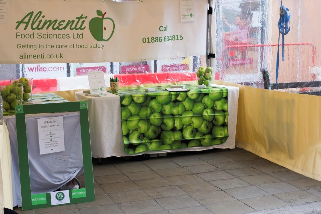 Alimenti stand at Festival of Business Worcester
